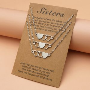 Sister Necklaces For 3